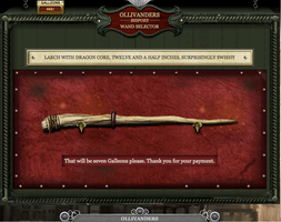 My Pottermore Wand by Harry-Potter-Addict