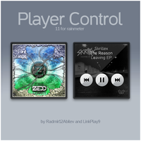Player Control for Rainmeter and CAD [v1.1] by LinkPlay9