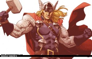Thor Wallpaper 2 by ReillyBrown