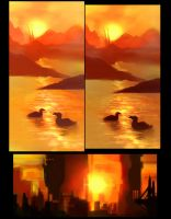 Light and Mood Studies 1 by MoshYong