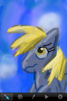iPhone Derpy by Quacksquared