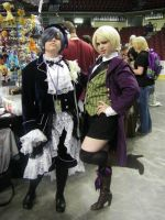 Anime Oasis Fever 2013 - Alois Trancy Debut! by Dusha-Soul