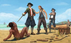 Pirates by Luk999