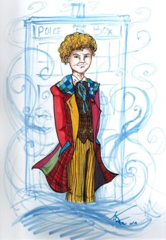 The Sixth Doctor by LOSHComixfan