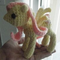 Fluttershy Crochet Doll5 by ChibiSayuriEtsy