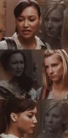 Brittana: Locker Scenes by kbcfan4