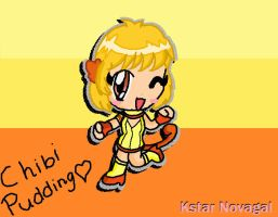 Chibi Mew Pudding :D by MyMeloGal2