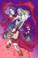 Disgaea heroes and heroines. by demieagle
