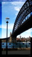 Harbour Bridge by Pure-Zeki