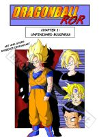 Dragon ball RoR - Chapter 1 cover :D by RyoGenji