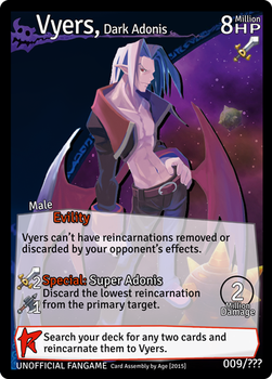 Disgaea: Netherwar Card Game - Vyers by masterage