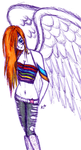 Angelic Ronnie by KymmieCup