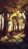 .forest. by Crimson-Mantella