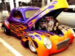 Orange Flamed Classic by LilArtist23