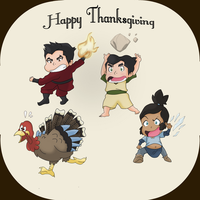 LOK: Happy Thanksgiving! by ButterflyMelodyFox