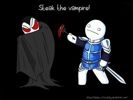 Cry the Vampire Slayer! by shadow-of-insanity