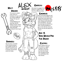 Alex, the Misfit by Link2262