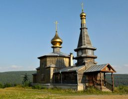 Old Believers Church, Zlatoust 1 by wildplaces