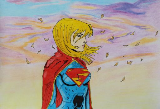 Kara Zor-El - Supergirl by Miller-Is-Dead