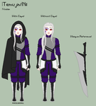 Stardust - Temujin Reference Sheet by theRainbowOverlord