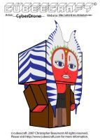 Cubeecraft - Shaak Ti by CyberDrone