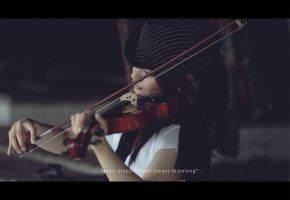 The Violinist by FlorenceHipolito