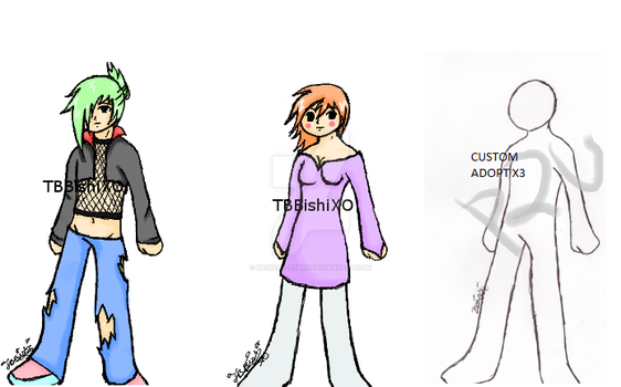 Adopts 3/5 [OPEN] by Medical-Stars