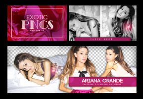 Pack Png 714 // Ariana Grande. by ExoticPngs