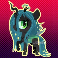 Queen Chrysalis by Miss-Glitter