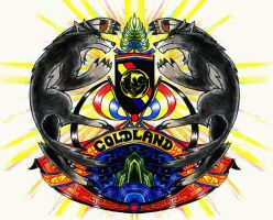 Coat of arms of Coldland by Scottvisnjic