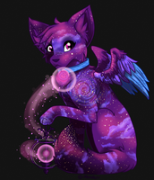 Dark Galaxy Spark Fox Auction CLOSED - AutoBought! by iMandarr