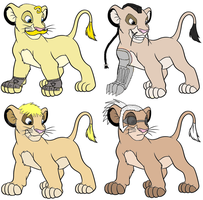 FMA Lion Cubs Part 2 by flamearcher909