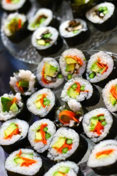 Homemade Sushi by xd0rkvict0rx