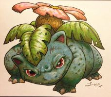 LEVEL100 Venusaur by grizlyjerr