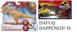 Jurassic Park Toys: Dafuq Happened? 2 by JettRyu