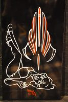 Pinstriping and Pin ups by Hepcat-Pinstriping