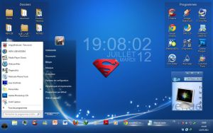 SUper SWeet BLue Theme For 7vn by oursalah11