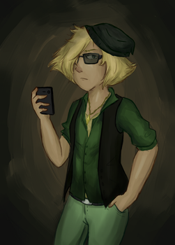 Modern Human Peridot (steven universe) by color-theorist