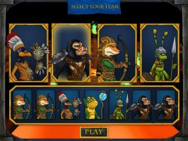 iBattle Team Selection Screen by Mind-Force