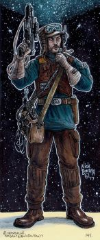 Sergeant Melshi by Phraggle