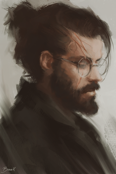 Harry J Potter by blvnk-art