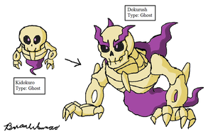 Fakemon: Demonic Skeletons by Brian12