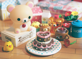 Korilakkuma love by cyristine