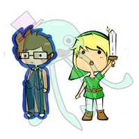 Tennet and Link by MySirJelly