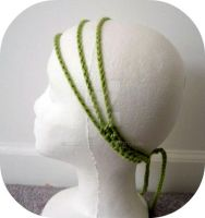 Green Hipster Headbands by AAMurray