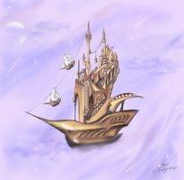 Sail away by Faye-Stormypetrel