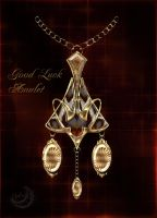 Good luck amulet Art Deco by Lyotta