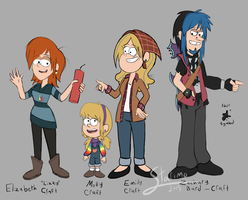 The Craft Family by Starimo