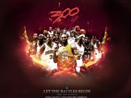 300: The NBA Playoffs by KR1SPY