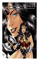 Wonder Woman Colors by browll